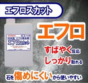 画像1: 石材用洗浄剤 エフロスカット 1kg