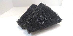 画像1: 洗浄用パッド 3M ブラックストリッピングパッド (8分の1) 2枚